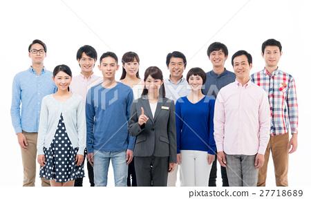 비즈니스 우먼과 사람들 27718689