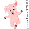 Cute pig cartoon 27720120