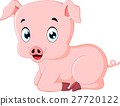 Cute pig cartoon 27720122