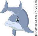 海豚 抠图 白底 27720126