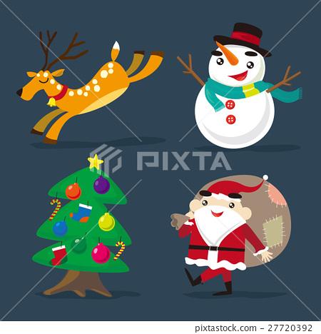 Christmas element 27720392