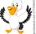 Cute pelican cartoon 27720642