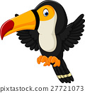 Cartoon happy bird toucan 27721073
