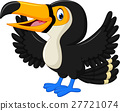 Cartoon happy bird toucan 27721074