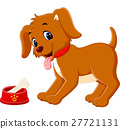 Cute dog cartoon 27721131