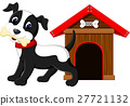 Cute dog cartoon 27721132