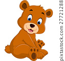 Cartoon funny bear 27721288