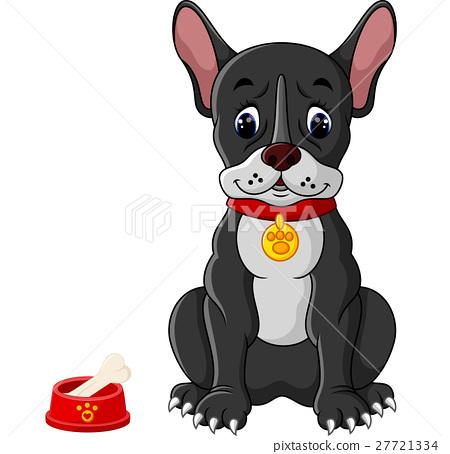 French bulldog sitting 27721334