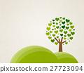 언덕에있는 하트 나무 27723094