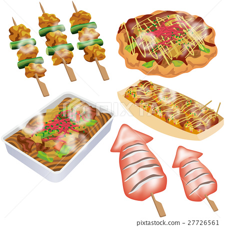 food, foods, stall 27726561
