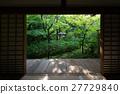 Koto in zen temple famous for its garden 27729840