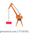 Industrial Crane Loading Container 27730762