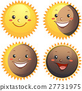 Sun Solar Eclipse Mascots 27731975