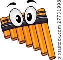 Mascot Pan Flute Instrument 27731998