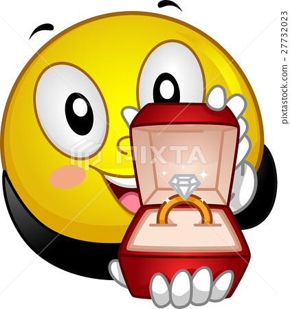 Smiley Propose Engagement Ring 27732023