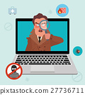 Internet security and spyware warning with 27736711