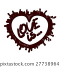 love chocolate heart 27738964