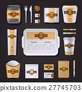 Fastfood Restaurant Corporate Design 27745703