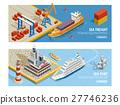 船 船运 装货 27746236