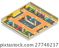Parking Underground Isometric Template 27746237