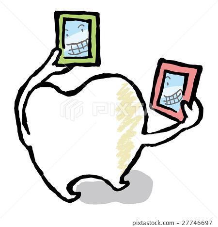 牙齒 齒輪 人物 27746697