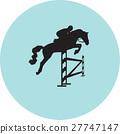 jockey and horse 27747147