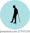 crutch, male, patient 27747176
