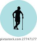crutch, male, patient 27747177