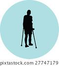 crutch, male, patient 27747179