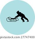 sled, kid, sleigh 27747400