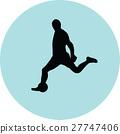 足球 選手 人影 27747406