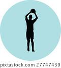足球 選手 人影 27747439