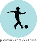 kid play soccer 27747446