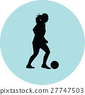 woman soccer player 27747503