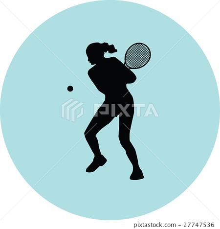 girl play tennis 27747536