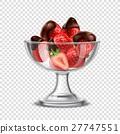 巧克力 草莓 甜點 27747551