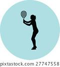 girl play tennis 27747558
