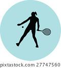 girl play tennis 27747560
