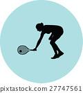 girl play tennis 27747561