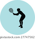 girl play tennis 27747562