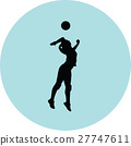volleyball woman player 27747611
