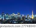Tokyo night view 27748040