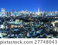 Tokyo night view 27748043