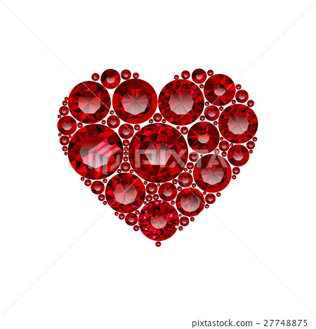 Happy Valentines day vector greeting card design 27748875