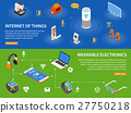 Internet Of Things 2 Isometric Banners  27750218