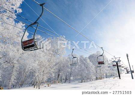 滑雪纜車 27751503