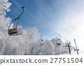 滑雪纜車 27751504