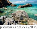 背景 海灘 海岸 27752035