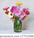 Flowers Bouquet Low Poly 27752696