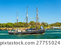 Vintage windjammer in Sydney Harbour, Australia 27755024